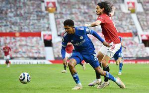 «Лестер» обыграл «Манчестер Юнайтед» и поднялся на 3-е место в АПЛ