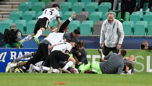 Германия обыграла Португалию в финале молодежного чемпионата Европы