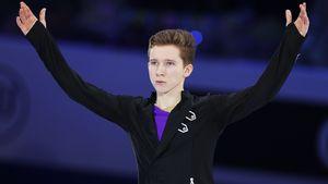 Лучший юниор мира Мозалев выиграл турнир в Питере с тремя четверными в программе. Тренер считает, что это не предел