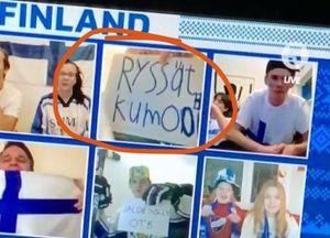 Международный скандал со сборной России: финский болельщик в прямом эфире оскорбил русских обидным прозвищем