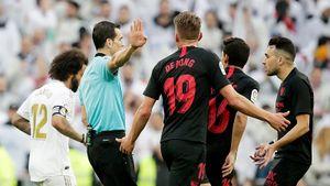 «Севилья» вярости отсудейства вматче с«Реалом». Мончи хотел увести команду споля