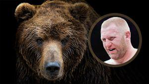 Харитонов вышел на бой с британцем Уильямсом следом за живым медведем: видео