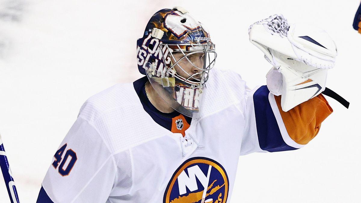 Варламов вышел на чистое 1-е место по количеству шатаутов в текущем сезоне НХЛ