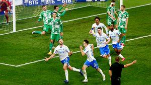 «Динамо» чуть-чуть реабилитировалось за кошмар в Лиге Европы. Додавили «Ахмат» на 91-й