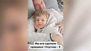 Плющенко, Рудковская и Гном Гномыч вакцинировались «Спутником V»