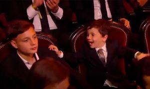 Дети Месси мило отпраздновали победу отца, получившего «Золотой мяч»: видео