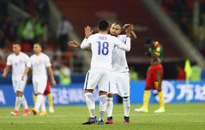 Чилийцы стартовали на Кубке конфедераций с победы