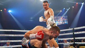 Сын легенды русского бокса оформил нокаут за 9 минут. Тимофей Цзю в шаге от мирового титула