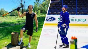Кучеров вернулся на лед, а Малкин начал колоть дрова. Как русские звезды НХЛ возвращаются к нормальной жизни