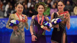 Сколько медалей выиграет Россия вфинале Гран-при. Подиум для Загитовой под вопросом