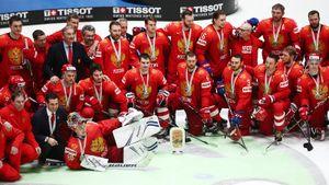 3 медали чемпионатов мира и 2 золота студентов. Итоги сезона для хоккейных сборных России