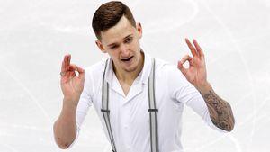 Чемпион России не хочет быть лузером. Он выиграл короткую программу на Универсиаде у призеров Евро