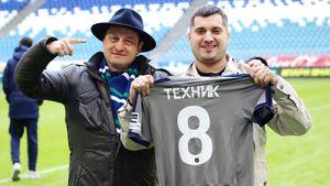 Легенда ютуба Паша Техник приехал на матч «Крыльев». Он болеет за «Динамо», его знает Смолов