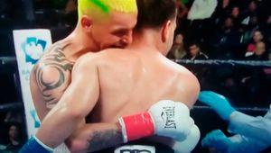 Украинец Редкач укусил американца наринге. Гарсия победил истал претендентом напояс WBC