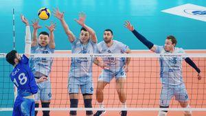 Московское «Динамо» победило петербургский «Зенит» в ответном матче и выиграло Кубок ЕКВ