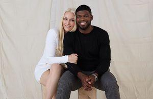 Олимпийская чемпионка Линдси Вонн объявила о помолвке с темнокожей звездой НХЛ Суббаном