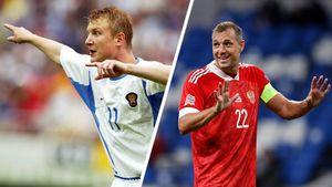 Дзюба сравнялся с Бесчастных по голам за сборную России. Больше забил только Кержаков