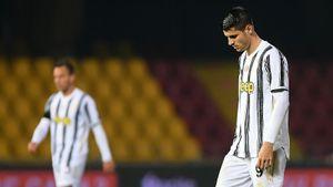 «Юве» посыпался: без Роналду не обыграли «Беневенто», Мората забил и удалился. У Пирло ничьих больше, чем побед