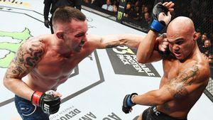 Лоулер был одним из самых жестких бойцов в UFC. Вчера его деклассировали на глазах у детей Трампа