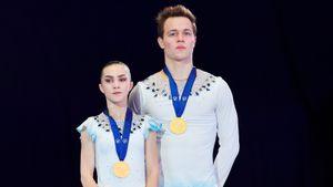 Русская пара Панфилова/Рылов показала, что она лучшая в своем возрасте. Они могут выиграть ОИ-2022
