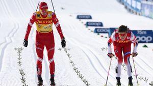 Большунов стал 6-м в гонке преследования на заключительном этапе Кубка мира, победил норвежец Крюгер