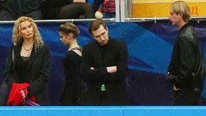 Плющенко: «Наша задача с Косторной — четверной прыжок. Ей пока не хватает функционалки»