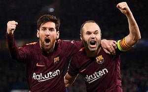 «Барселона» — чемпион Испании. Это последний титул Иньесты в клубе
