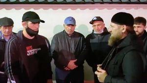 Кадыров и сотни односельчан: как провожали в последний путь Абдулманапа Нурмагомедова