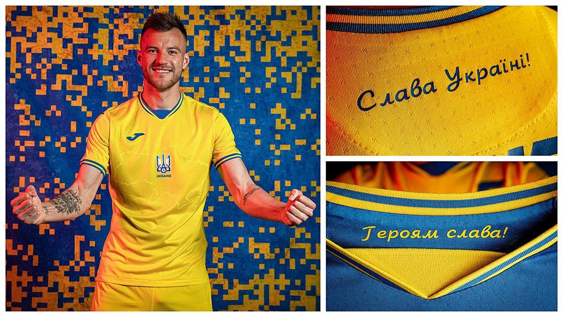 УЕФА обязал сборную Украины убрать слоган Героям слава! с формы на Евро-2020 после запроса РФС
