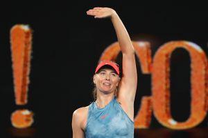 Не спешите отправлять Шарапову на пенсию. Мария обыграла действующую чемпионку Australian Open