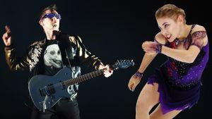 «Косторная любит покуражиться икайфует под Muse». Уроссийских фигуристок мода набританский рок
