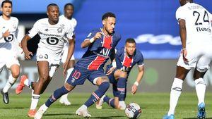 «ПСЖ» проиграл «Лиллю» и пропустил соперника на 1-е место в таблице Лиги 1. Неймар был удален