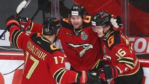 Толчинский отомстил канадскому тренеру. Питерс не пускал русского форварда в НХЛ, а он зарешал против его команды