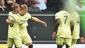 Гол Эдегора со штрафного принес «Арсеналу» победу над «Бернли», «Ливерпуль» разгромил «Кристал Пэлас»