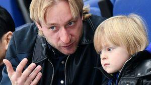 Полиция проверяет факты вымогательства иугрозы жизни, поступившие сыну Плющенко винтернете