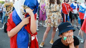 В Москве закроют фан-зоны для болельщиков из-за коронавируса