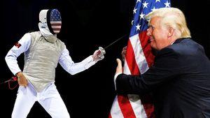 Спортсмены из США устроили акцию протеста против Трампа на Панамериканских играх. Их ждут санкции