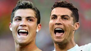Как менялся Роналду от первого гола на Евро 17 лет назад до рекорда турнира: фото