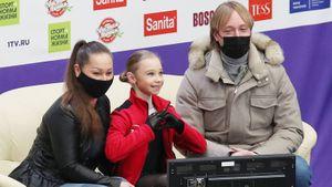 «Принцесса четверных». Плющенко опубликовал видео каскада Вероники Жилиной с четверным сальховом
