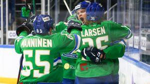 Сумасшедший триллер в российском хоккее! «Салават» за секунду до конца матча вырвал победу в дерби у «Ак Барса»