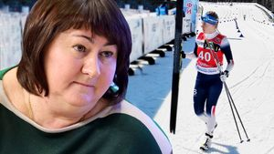 На чемпионате России по лыжам едва не вспыхнул скандал: показалось, что одна из девушек бежала в норвежской форме