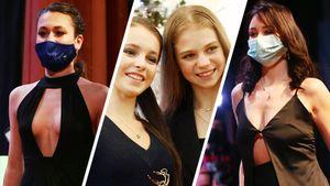 Щербакова и Трусова обнимались, Туктамышева и Худайбердиева демонстрировали вечерние платья. Фото жеребьевки ЧР