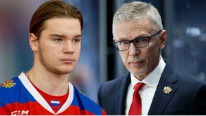 У молодежной сборной России проваливается первое звено. Ларионову нужно искать нового партнера для капитана