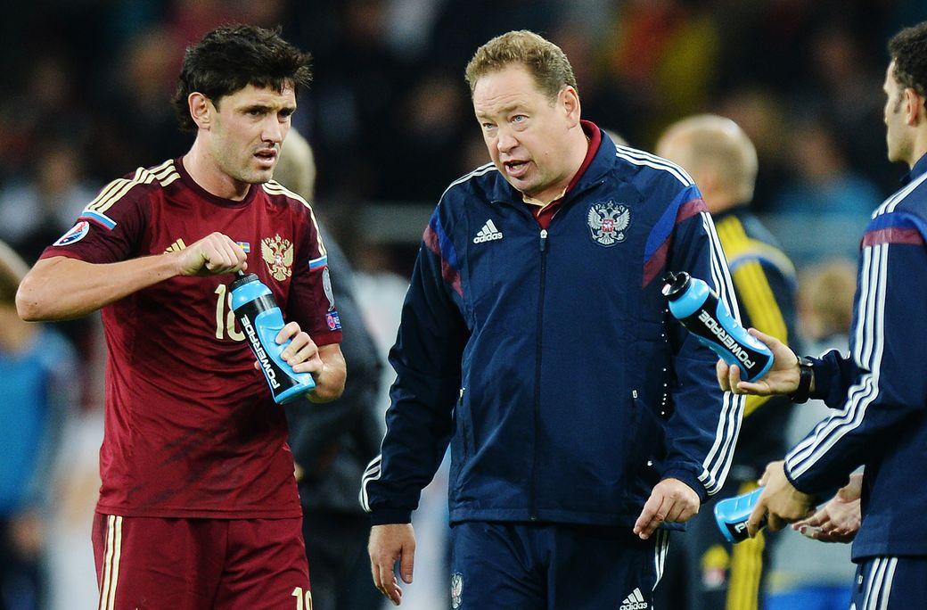 Жирков рассказал о конфликте со Слуцким в сборной России: Хотел встать и послать