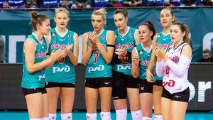 Калининградский «Локомотив» без шансов проиграл в Лиге чемпионов. «Эджзаджибаши» хватило трех сетов