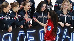 Горячий спич Медведевой и Загитовой в стиле Макгрегора и Хабиба. Как это было