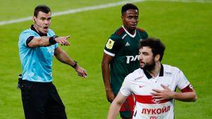 Разбор судейства в дерби: почему «Спартаку» не дали 3 пенальти и правильно ли удалили Айртона