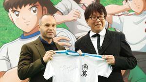 В Японии создали футбольный клуб на основе известного комикса. Его поклонники — Зидан и Иньеста
