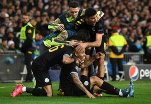 «Манчестер Сити» вМадриде обыграл «Реал». Рамос был удален споля