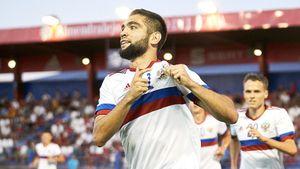 Эксперты оценили шансы Гамида Агаларова забить первый гол за сборную России в ближайших матчах